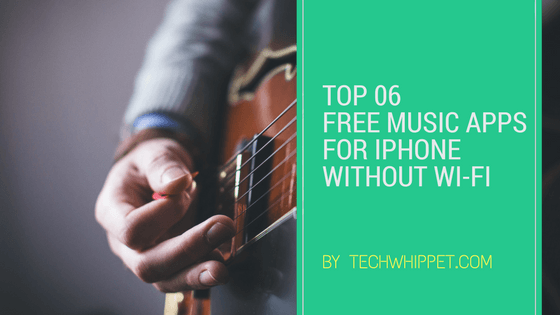 song apps for iphone without wifi