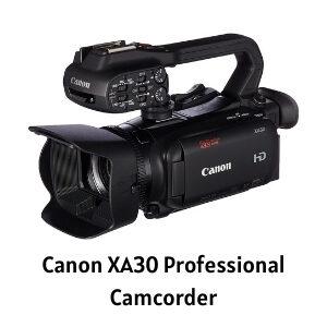Canon XA30 review