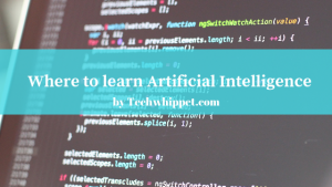 Where to learn Artificial intelligence