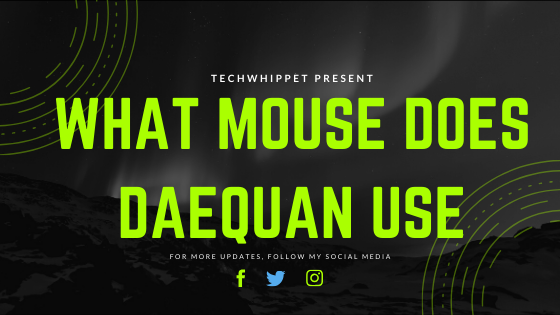 What Mouse Does Daequan Use