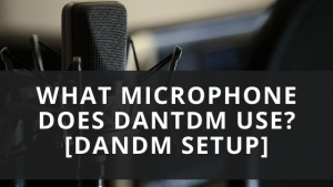 What Microphone Does Dantdm Use