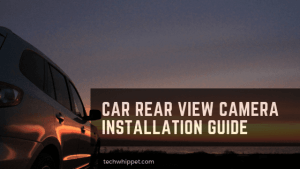 car rear view camera installation guide