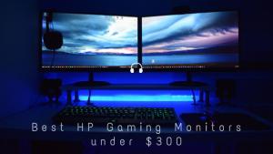 Best HP Gaming Monitors under $300