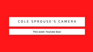 What Camera Does Cole Sprouse Use