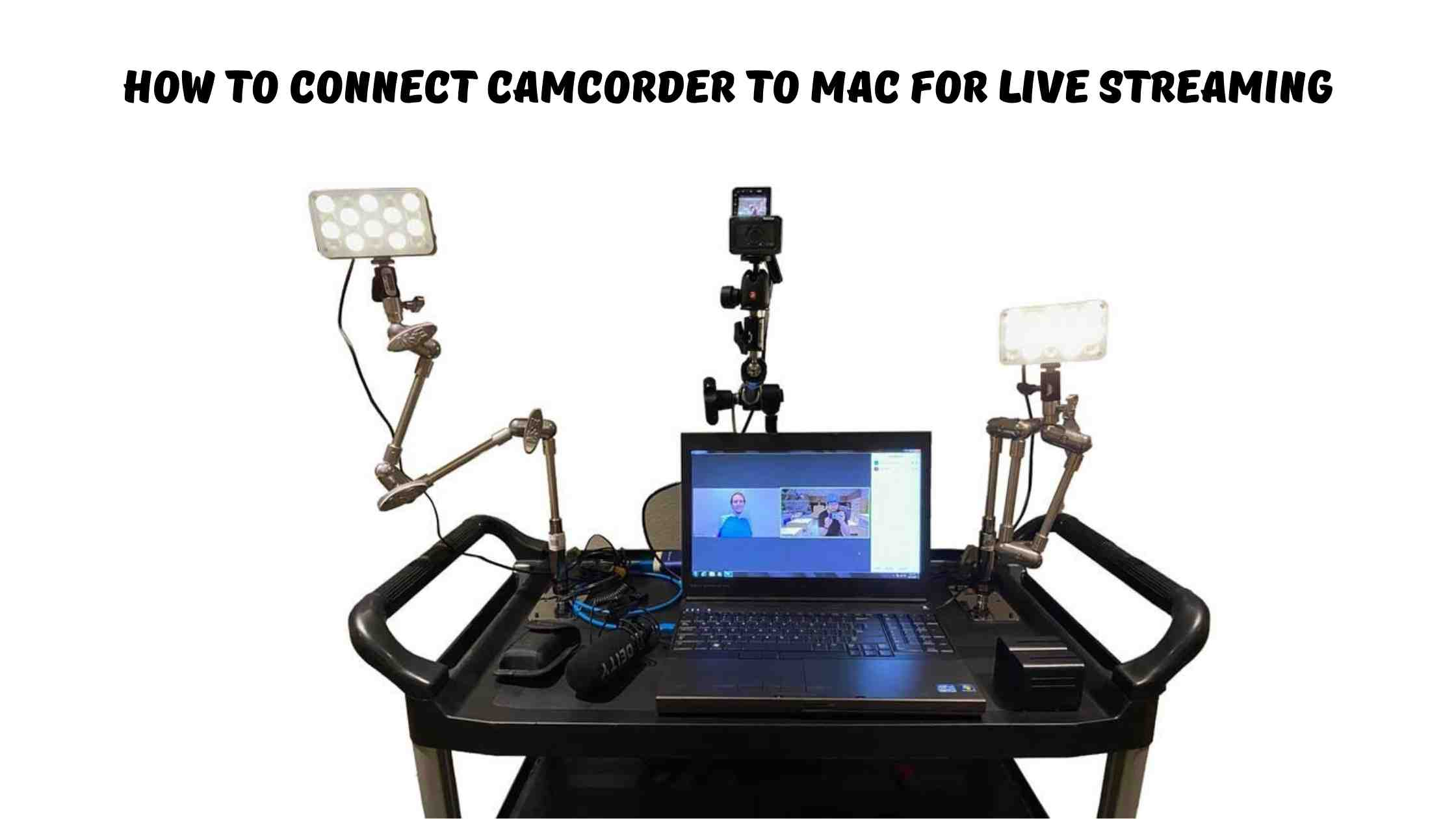 How To Connect Camcorder To Mac For Live Streaming
