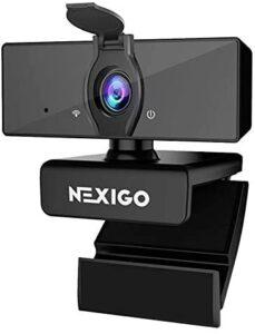 NexiGo N660 USB FHD Web Computer Camera, Plug and Play